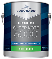 Augusta Paint & Decorating Super Kote 5000® Waterborne Acrylic-Alkyd is the ideal choice for interior doors, trim, cabinets and walls. It delivers the desired flow and leveling characteristics of conventional alkyd paints while also providing a tough satin or semi-gloss finish that stands up to repeated washing and cleans up easily with soap and water.boom