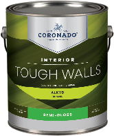 Augusta Paint & Decorating Tough Walls Alkyd Semi-Gloss forms a hard, durable finish that is ideal for trim, kitchens, bathrooms, and other high-traffic areas that require frequent washing.boom